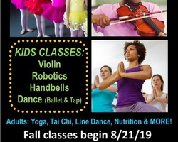 Community Classes - Registration Open